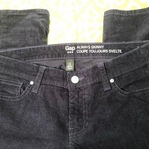 Gap Skinny Corduroy Jeans